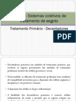 Aula 6 - Sistemas coletivos de tratamento de esgoto - tratamento primário.pdf
