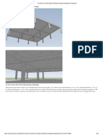Two-Way Concrete Slab with Beams Spanning Between Supports