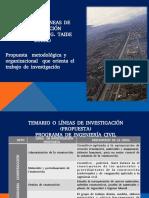 temario propuesto para líneas de investigación I.C.