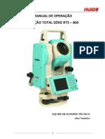 Manual RTS 860R