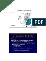L Appareil d Anesthesie- Dr F Philip -2012
