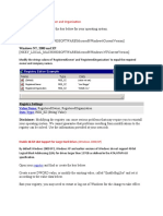 Registry Guide