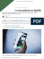 Como colocar o seu podcast no Spotify – Aplicativos e Software