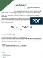 Python _ Fast Fourier Transformation - GeeksforGeeks