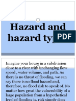 Hazard and hazard types