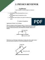 PLM STEM LearnISKO General Physics I Second Quarter Reviewer