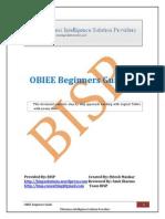 OBIEE Beginner Guide IV
