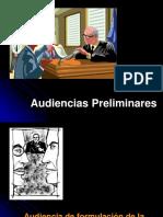 Audiencia de formulacion de  imputacion