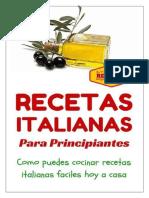 Cocina Italiana 101 – Recetas Italianas Para Principiantes