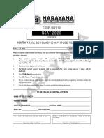CLASS-X_NSAT_2019_QP KS PDF SAMPLE PAPER(NARAYANA)