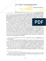 Gutiérrez, Alicia - Acerca de campo y hábitus como categorías analíticas