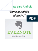 Manual Evernote para Android