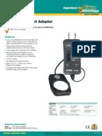 EXTECH Light Meter 401020 Data-Sheet