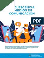 ADOLESCENCIA  Y MEDIOS DE  COMUNICACIÓN