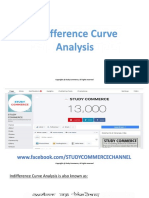 Indifference curve analysis