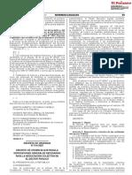 DECRETO DE URGENCIA Nº 014-2020