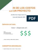 Gestión de Proyectos Informáticos (Costos)