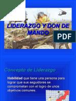 Liderazgo y Don de Mando