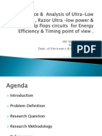 Performance &  Analysis of Ultra-Low Voltage