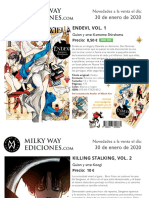 Novedades Milky Way Enero 2020