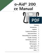Artema Cardio-Aid 200 Defibrillator - Service manual.pdf