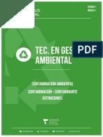 PLANTILLA CLASE 1 - CONTAMINACION AMBIENTAL