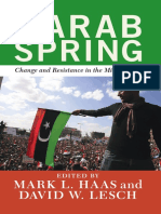 arab spring by Lesch David w