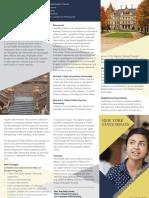 Graduate Legislative Fellowship Program Brochure
