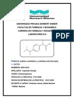 ANALISIS CUALITATIVO Y CUANTITATIVO DEL fluconazol