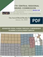 Community Development - North Central Regional Planning Slides