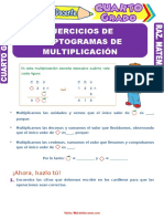 Ejercicios-de-Criptogramas-de-Multiplicación-para-Cuarto-Grado-de-Primaria