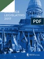 Balance Legislativo 2017