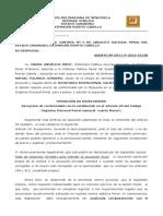 CONTESTACION SENCILLA DE HOMICIDIO