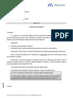 Resumo - Direito Civil Contratos - Contrato de Mandato - 31-7e927b1195de257d42997a872140ab06