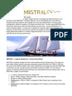 Mistral, The Yacht, Restoration, Sale.docx