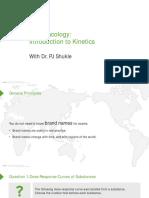 Slides_Pharmacokinetics _Pharmacology