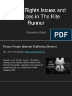 human rights issues and injustices in the kite runner