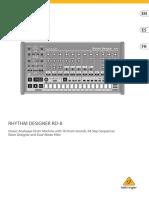 RHYTHM DESIGNER RD-8_QSG_WW