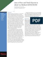 Determination-of-Free-and-Total-Glycerin-in-B-100-Biodiesel-via-Method-ASTM-D6584