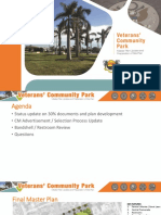 Marco Island Veterans Community Park Update - Jan. 21, 2020