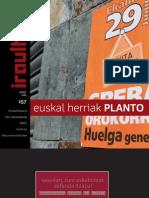 157 iraultzen (aldizkari sindikala, revista sindical, journal syndical)