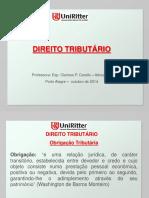 Aula Uniritter - Direito Tributário - aula VI.pptx