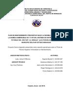 PROYECTO DE LA PARCELA CON CUADRO GUIA