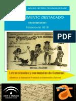 Letras visadas y censuras del Carnaval de Cádiz