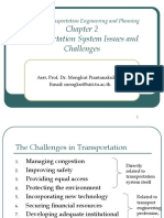 Chapter 2 - Transportation System Issues and Challenges