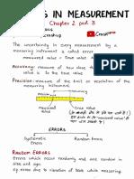 Crashup 11PH02 Part 3 Errors in Measurement