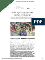 La arqueóloga de las luchas feministas - Entrevista a Dora Barrancos