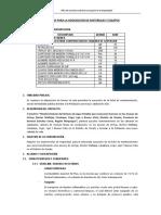 TDR DE MATERIALES_ESTRUCTURAS DE CAPTACION