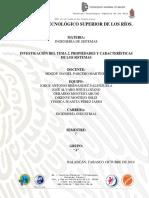 Unidad 2. Propiedades y caracteristicas de los sistemas
