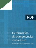 CHAUX FORMACIÓN DE COMPETENCIAS CIUDADANAS CHAUX 2004